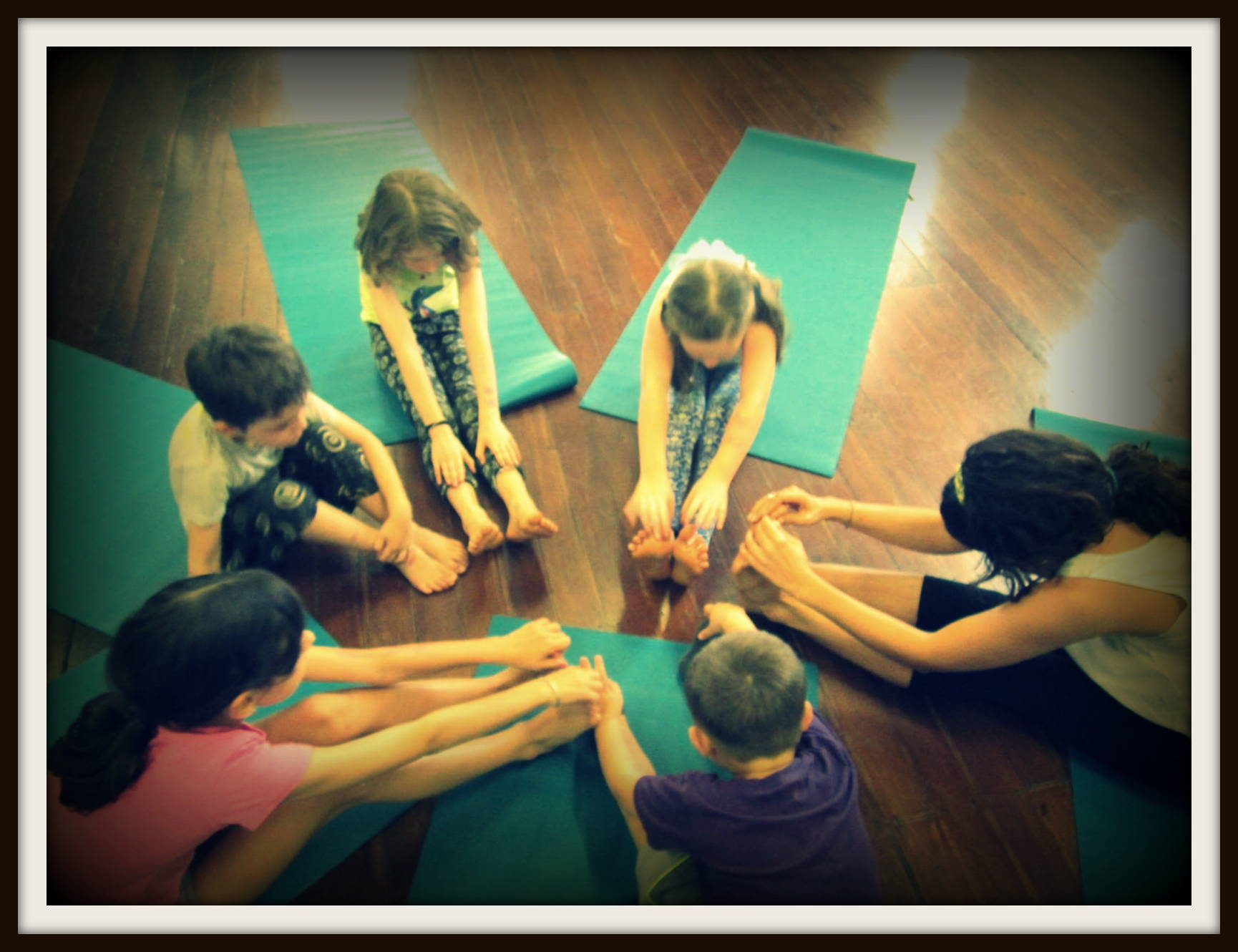 yoga and art workshops