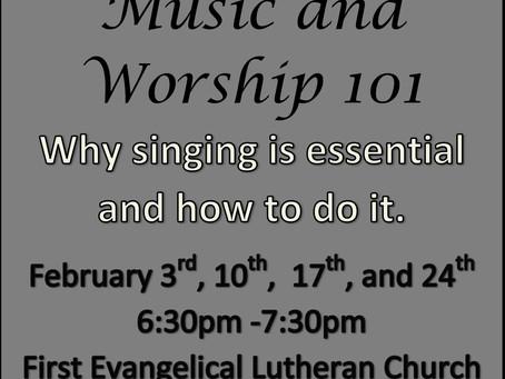 Music and Worship 101