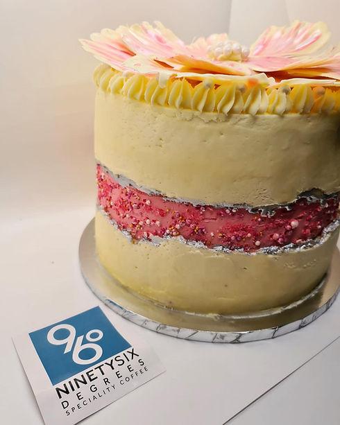 96 Degrees celebration cake.jpg