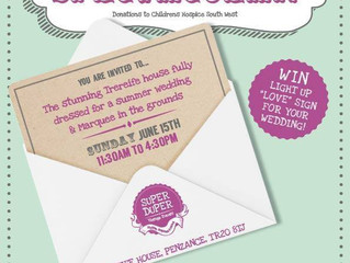 Wedding Fair, Trereife House, Penzance. Sunday 15th June