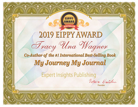 Tracy Una Wagner Certificate My Journey