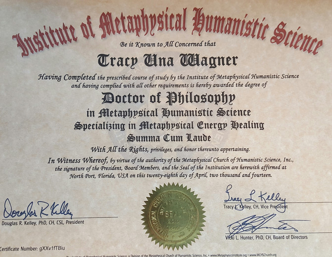 Doctorate Degree-IMHS-Doctor of Philosophy