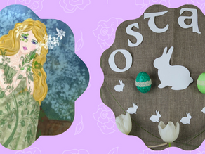 The Spring Equinox & Ostara 🐰🌷