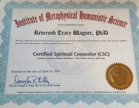 Spiritual Counselor-Reverend