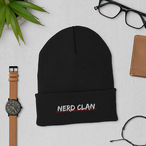 Nerd Clan Cuffed Beanie