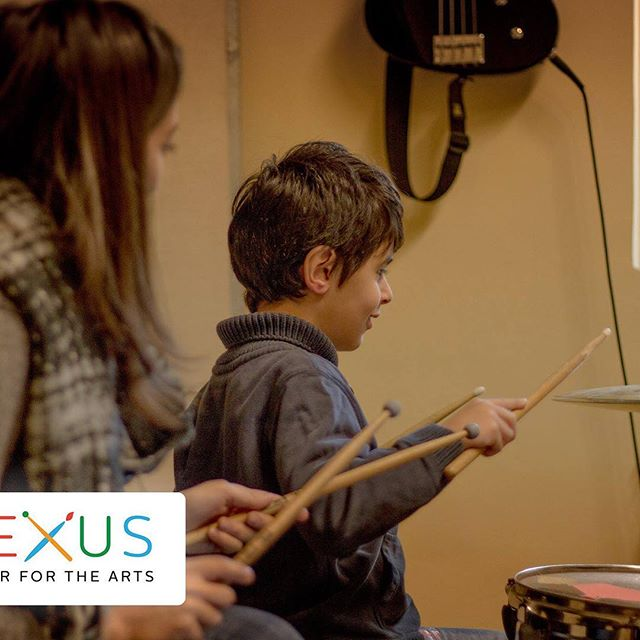 One of our youngest drummers