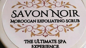 Savon Noir ~ Moroccan Exfoliating Scrub   The Ultimate Spa Experience
