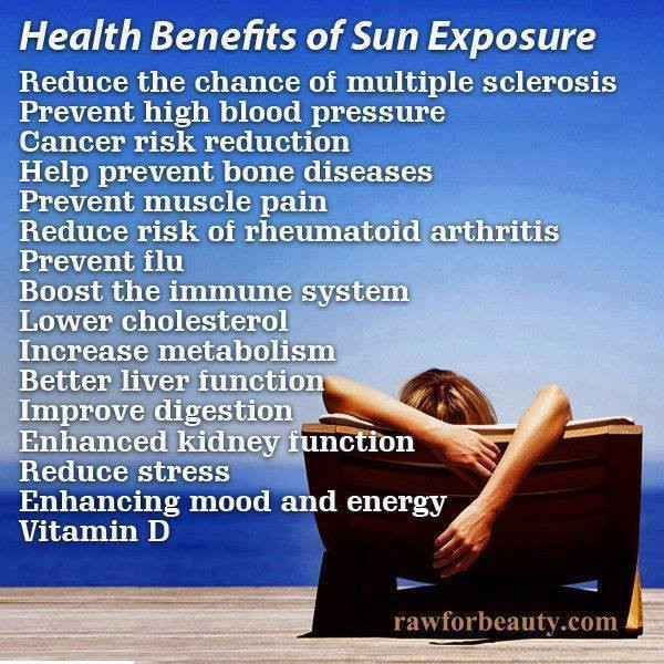Health Benefits Of The Sun