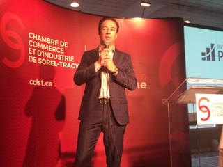 La CCIST reçoit Luc Poirier