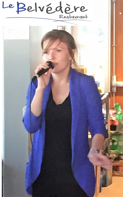 Jessica Mireault, restaurant Le Belvédère