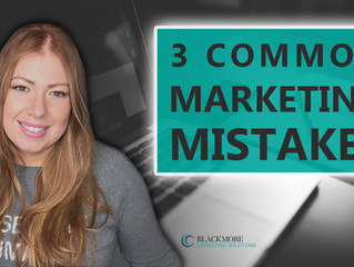 The Top 3 Marketing Mistakes Startups Make and How to Avoid Them
