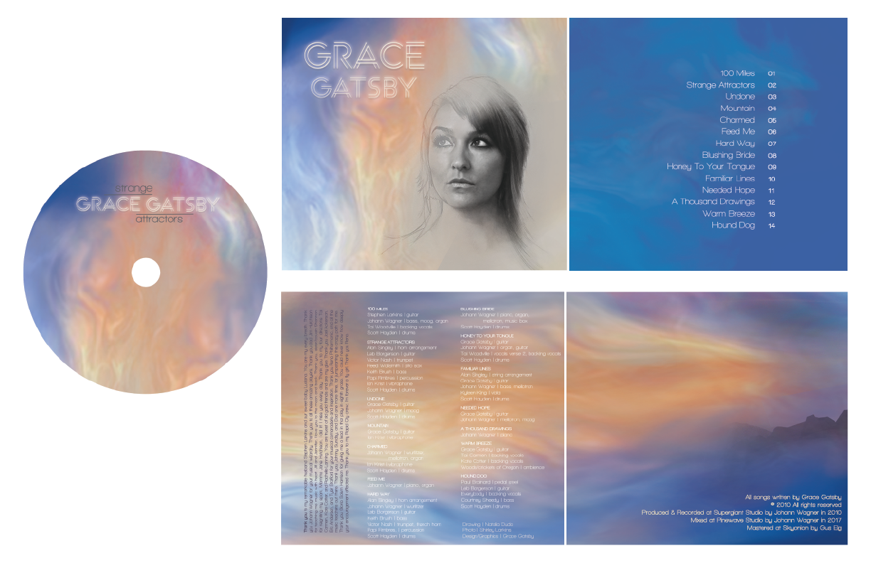GRACE GATSBY ALBUM