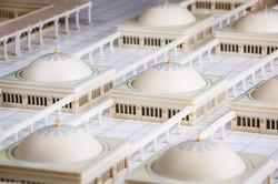 Domes of Madina Masjid 3d Model