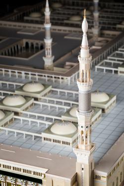 Minerats of Madina Masjid 3d Model