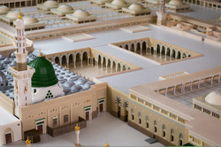 Rear side view of Madina Masjid 3d Model