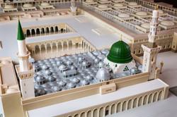 Rear view of Madina Masjid 3d Model