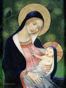 madonna-of-the-fir-tree-marianne-stokes.
