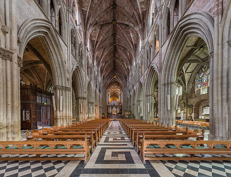 Worcester_Cathedral_Nave,_Worcestershire