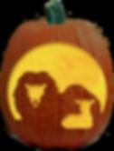TheLionAndTheLambPumpkinCarvingPattern.p