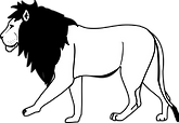 lion-black-and-white-free.png
