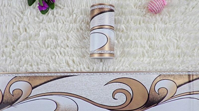 Pastoral Flower Waist Line Stickers