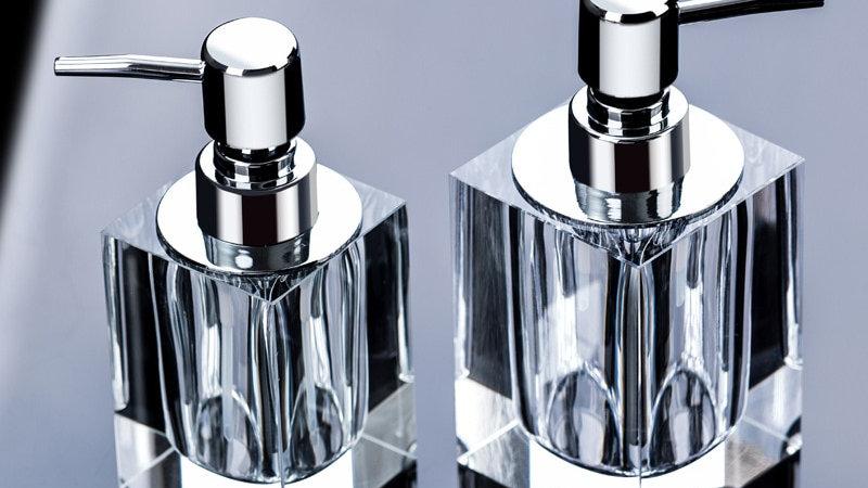 Transparent Crystal Glass Creative European Dispenser