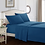 Thumbnail: Bed Sheet With Pillowcase 4pcs Mattress Covers Fitted Sheet Sets