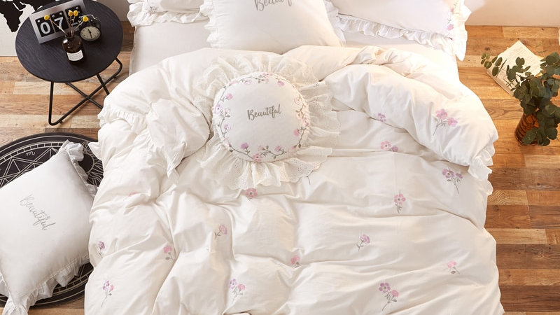 Korean Princess 100% Cotton Bedding Set