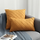 Thumbnail: Simple Nordic Plaid Pillow Cover Suede Check Luxury Cushion Cover