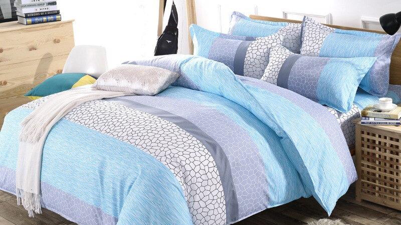 3/4pcs/Sets  Stripe Fashion Comforter Set