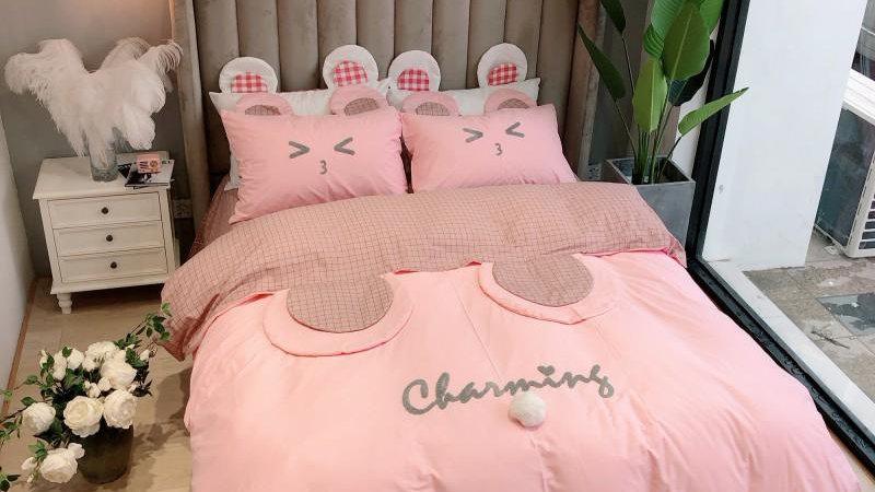 100% Cotton Ropa De Cama Parure De Lit Bedsheet Duvet Set