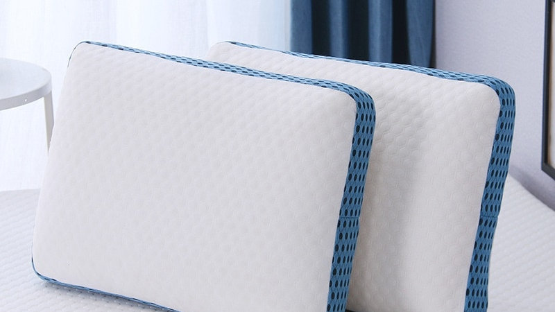 Ergonomic Design Pillow Memory Foam Soft Orthopedics