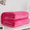 Thumbnail: Soft Coral Fleece Flannel Blankets for Beds Faux Fur Mink Throw