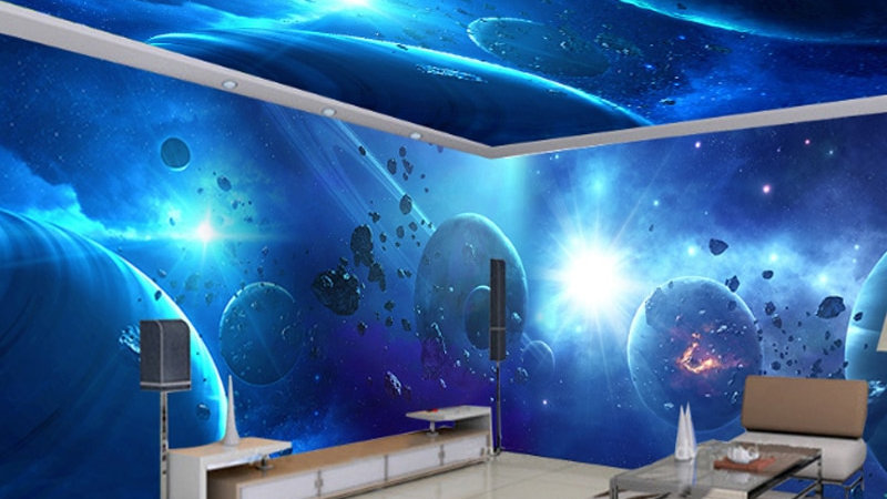 Starry Sky Wallpaper Galaxy Dream 3D Wallpaper