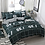 Thumbnail: 3/4Pcs/Set Stripe Blue Comforter Bedding Set