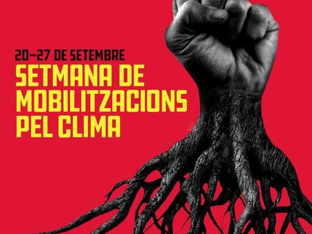 SETMANA DE MOBILITZACIONS PEL CLIMA