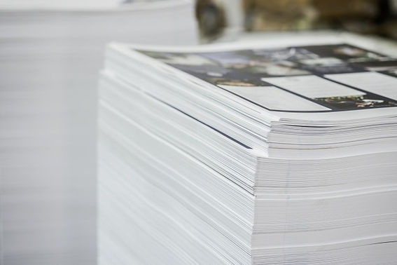 high-contrast-printed-paper-stack-indust