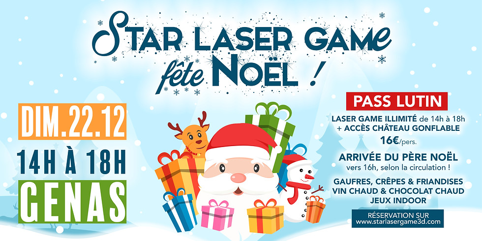 Star laser game fête Noël !