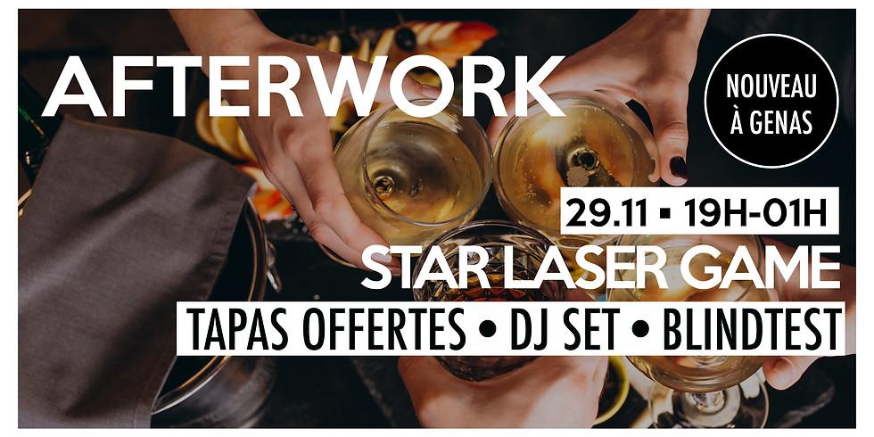 Afterwork à Genas • Tapas offertes, dj & blindtest !
