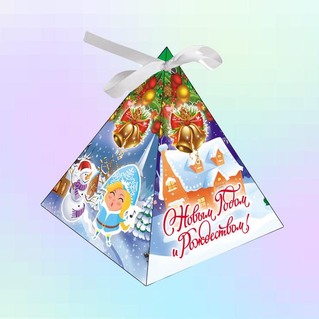 Треугольник_Дед Мороз и Снегурочка