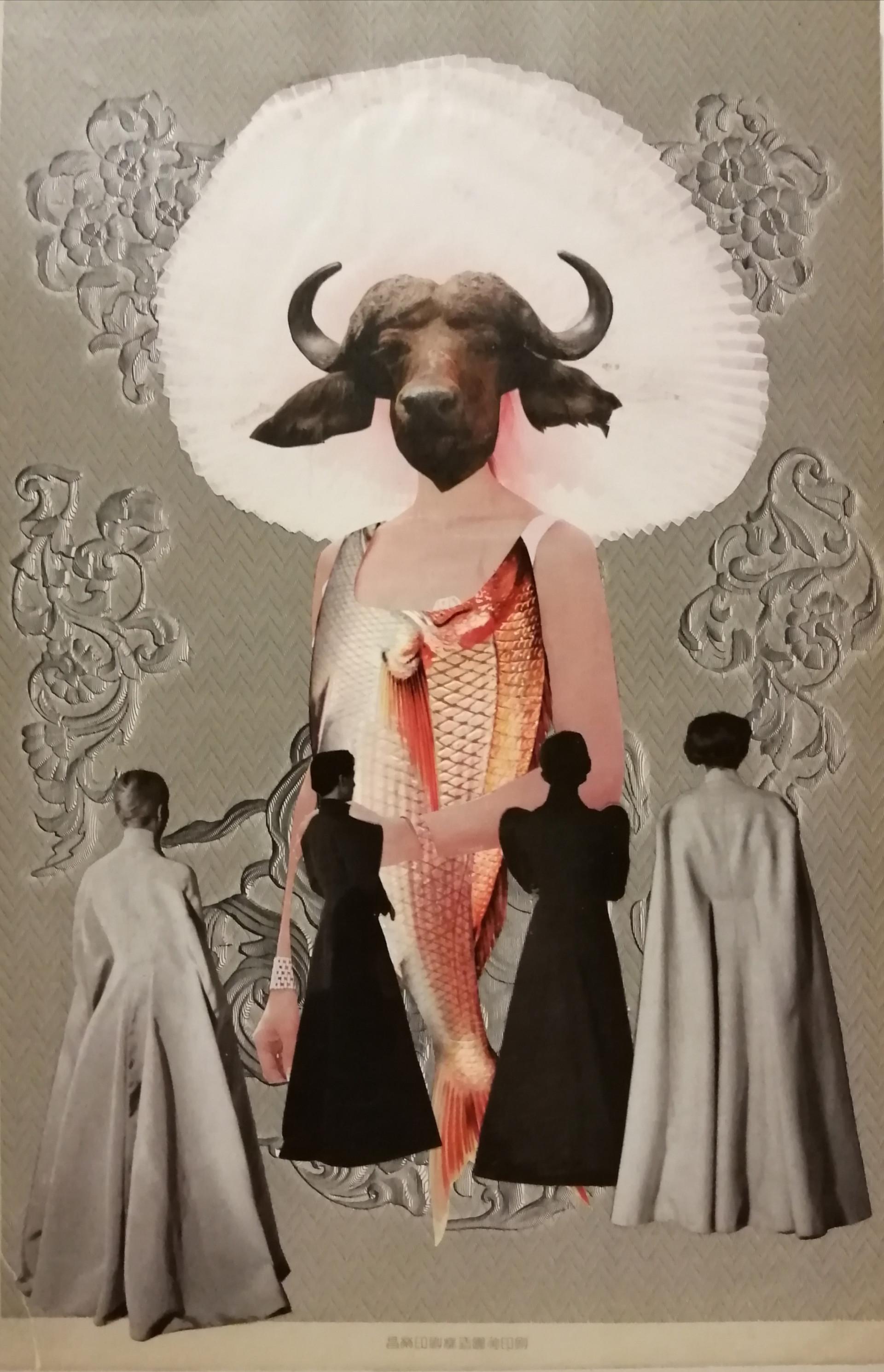 Tanto en el vestuario como en la narrativa y las artes plásticas mi obra se desarrolla como un collage de ideas y asociaciones libres del inconsciente.
