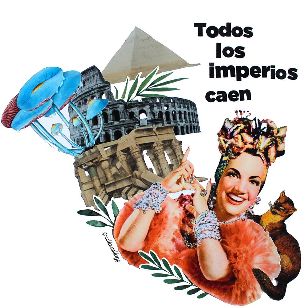 Todos los imperios caen - Celia Cisternas Urbina