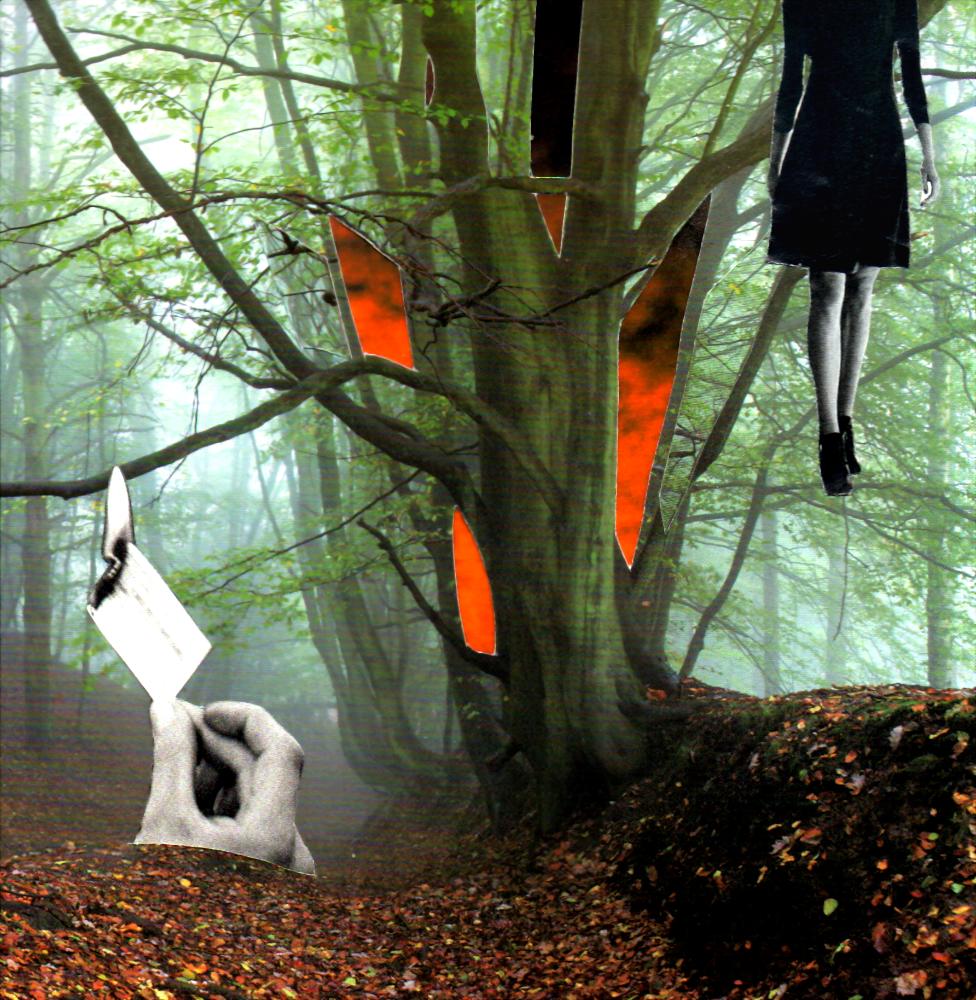 Al otro lado del silencio - Seibel Collage
