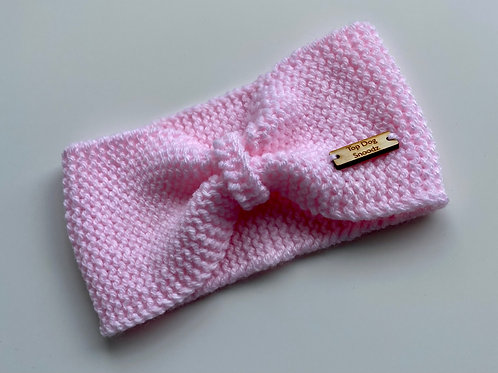 Pastel Pink bunched snoods