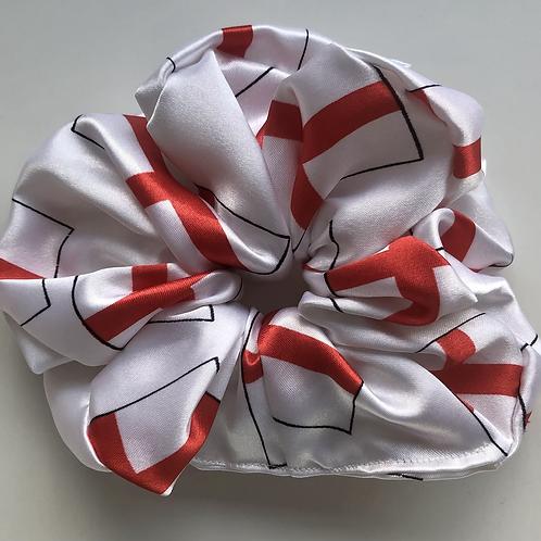 England scrunchie