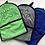 Thumbnail: Blue drying mittens
