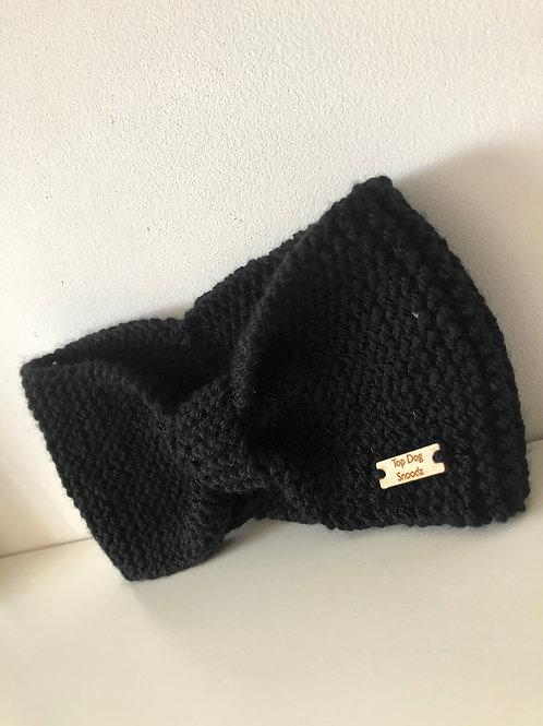 Black ear warmer