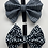 Thumbnail: Checkered classic bow tie