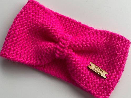 Pretty in Pink ear warmer