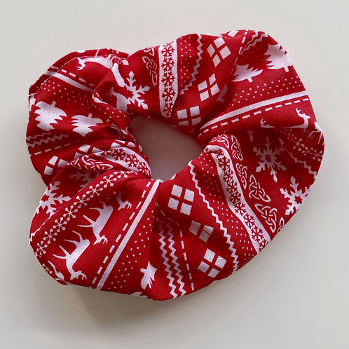 Ready for Christmas scrunchie